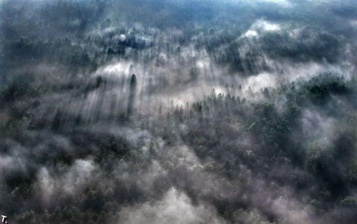 Виды с высоты птичьего полета (27 фото)