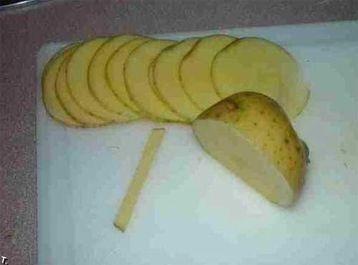 Как сделать розы из картошки (13 фото)