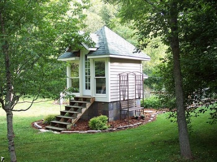 Маленькие дачные дома фото