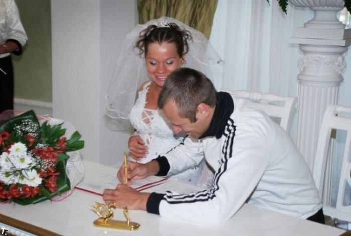 даже планировала свадьба в адидасе фото тело соображений
