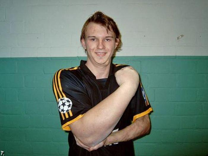 Чемпион Германии по армрестлингу (3 фото)