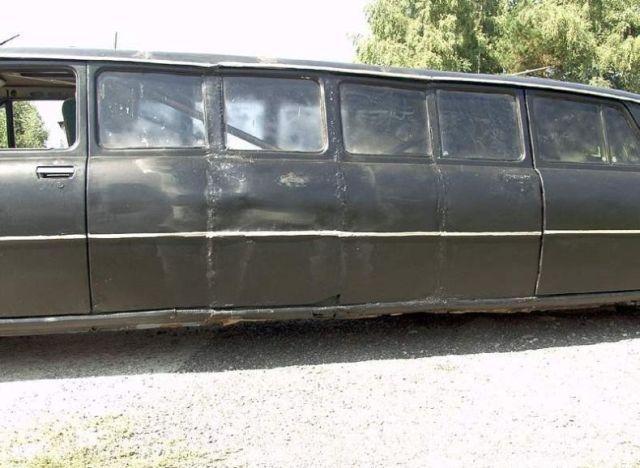 Самодельный лимузин (12 фото)