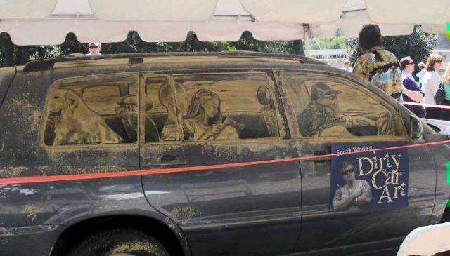 Мало кто решится помыть такой автомобиль (69 фото)