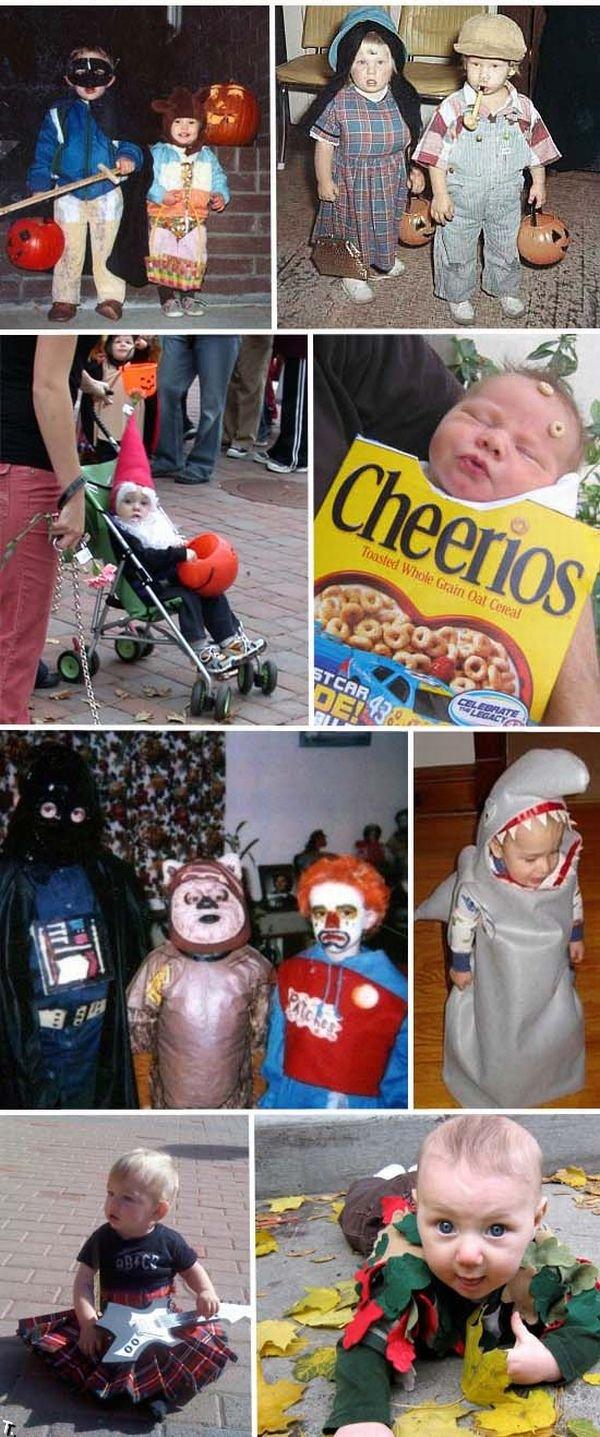 Самодельные детские костюмы на Хэллоуин (25 фото)