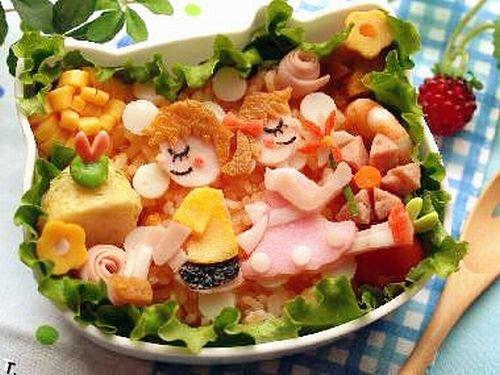 Еще одна подборка креативной еды (75 фото)