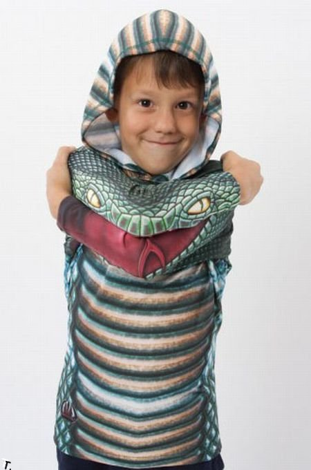 Ожившая одежда (8 фото)