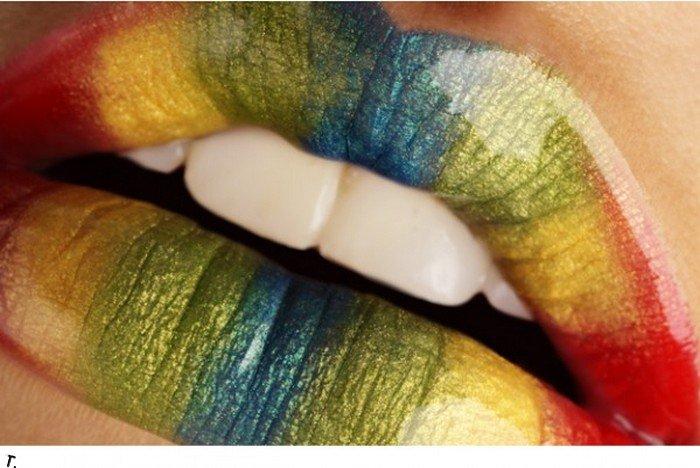 Красивые губы (21 фото)