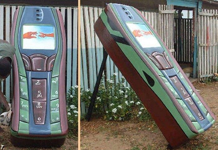 Гробы в Гане. Очень необычно (51 фото)