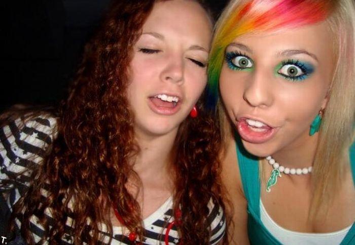 Радужный макияж (8 фото)