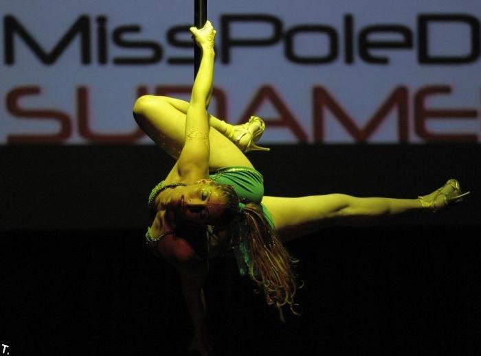Мисс Южная Америка по танцам у шеста (12 фото)