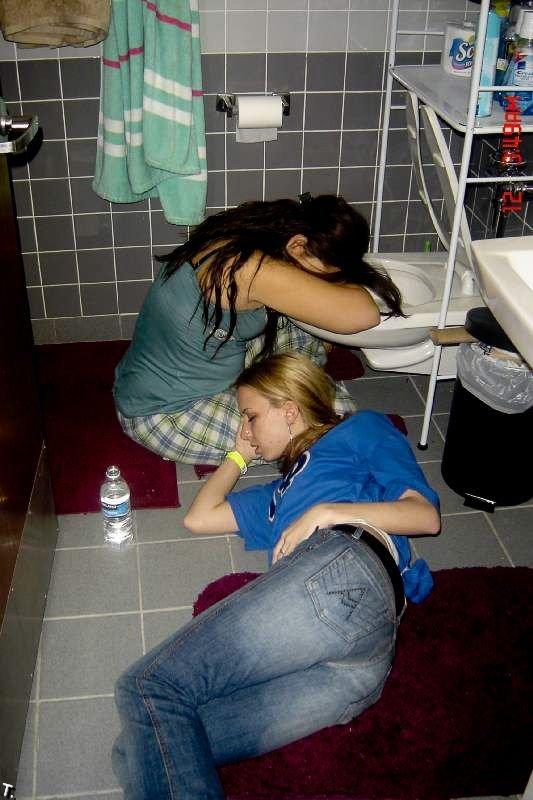 Пьяные девчонки картинка