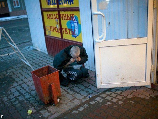 Россия наркоманская. Клей и героин (42 фото)