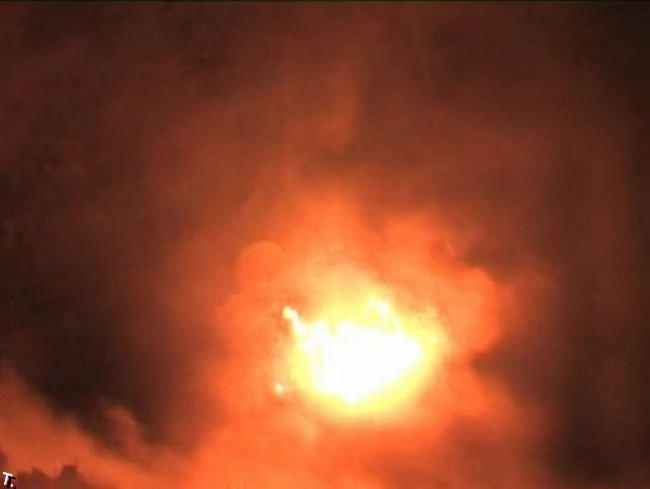 Падение метеорита в Латвии (16 фото + видео)