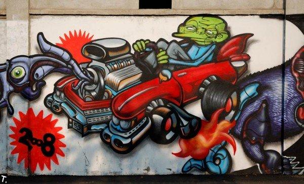 Классные граффити (281 фото)