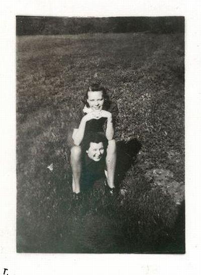 Странные фотографии из прошлого (65 фото)