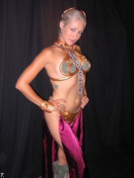Сексуальные костюмы на Хэллоуин - Принцесса Лея (52 фото)