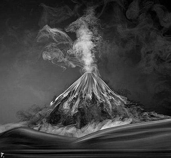 Креатив с дымом (15 фото)