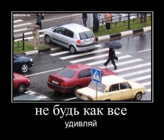 Авто-демотиваторы (80 картинок)