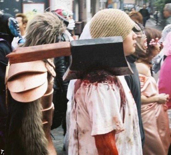 Хэллоуин в Японии (36 фото)