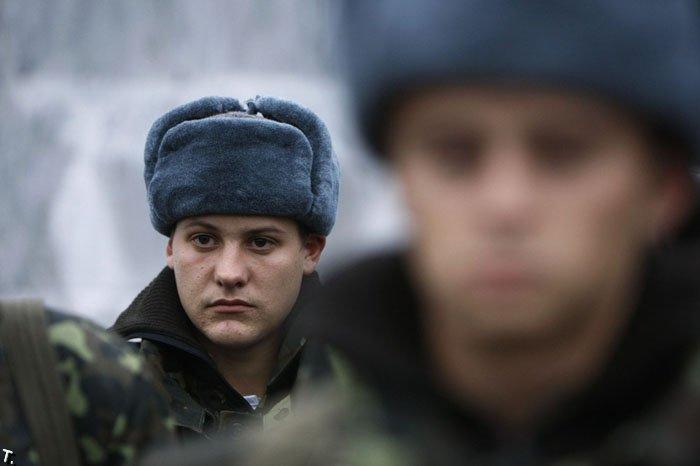 Начало украинского призыва (10 фото)