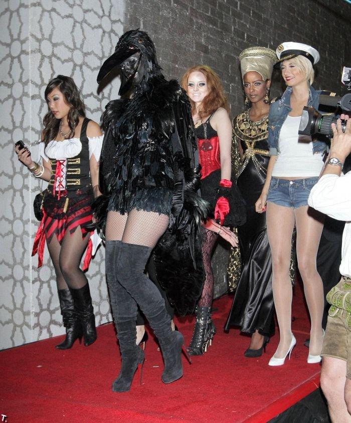 Звезды празднуют Хэллоуин 2009 (50 фото)