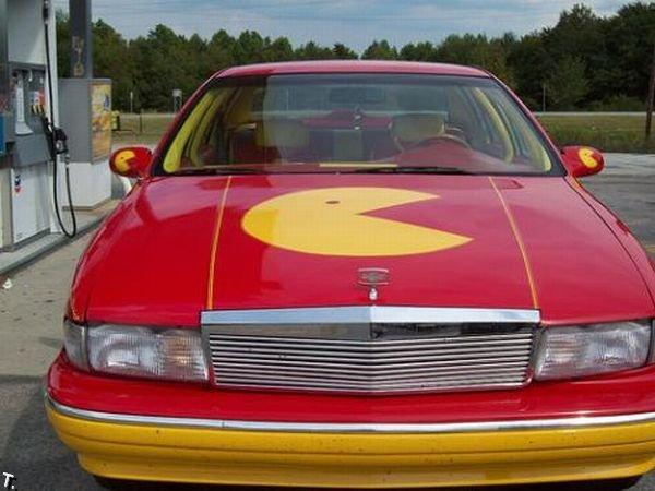 Машина фаната игры Pacman (5 фото)