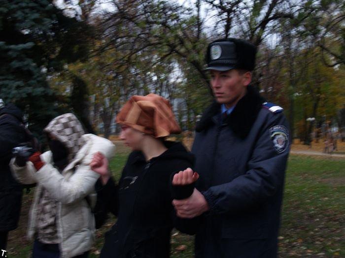 Секс-акция в Киеве (5 фото) НЮ