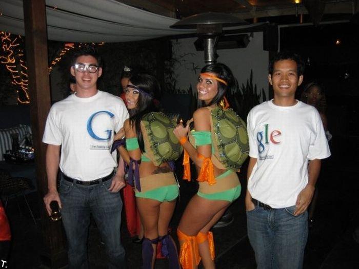 Одни из лучших костюмов на Хэллоуин (5 фото)
