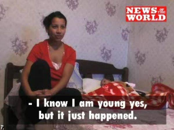 11-летняя мать из Болгарии (8 фото)