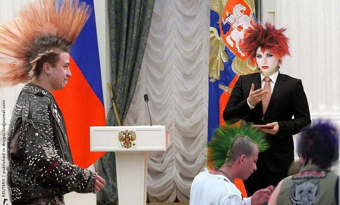 Фотожаба на народного избранника и народного артиста (168 фото)