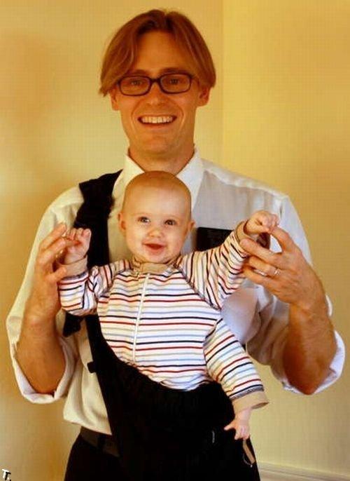 Прикольный детский костюм на Хэллоуин (20 фото)