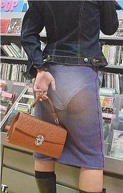 Прозрачные юбки (9 фото)