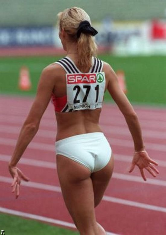 Легкая атлетика как сексуальный вид спорта