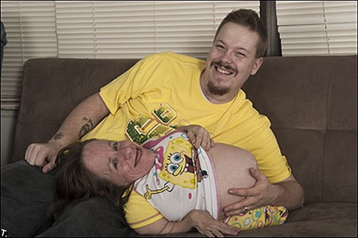 Самая маленькая мама в мире снова беременна (7 фото)