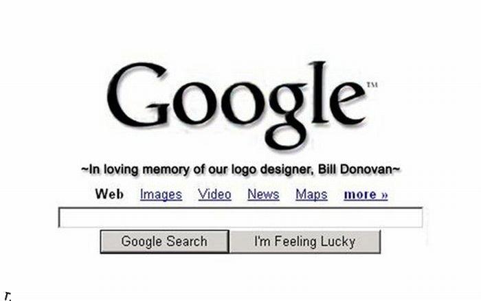У дизайнера логотипов Гугла был сложный период (5 фото)
