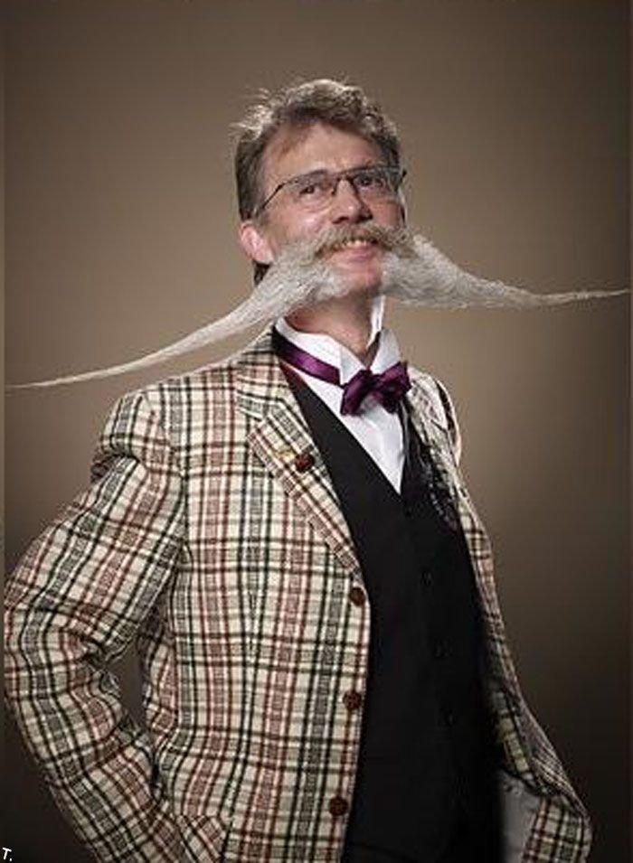 Классные бороды и усы (34 фото)