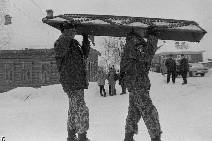 Похороны рядового Анисимова. Очень сильный репортаж (20 фото)