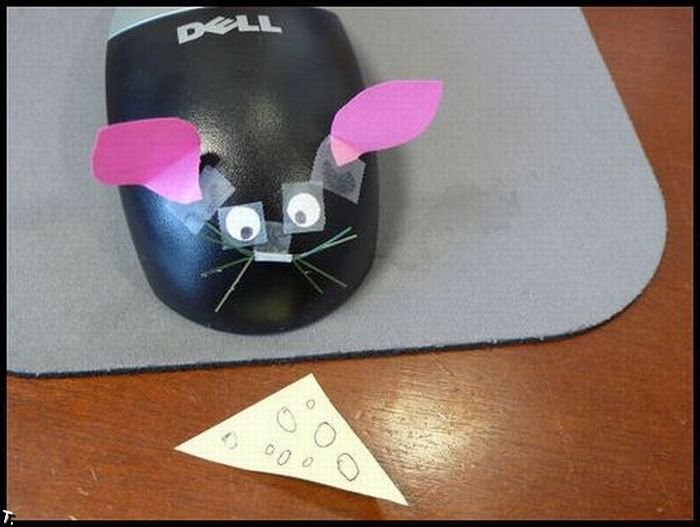 Как развлечься в офисе (37 фото)