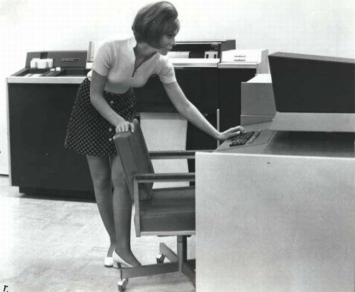 Ретро офисы (35 фото)