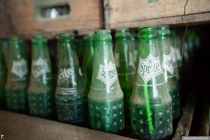 Брошенный завод Pepsi