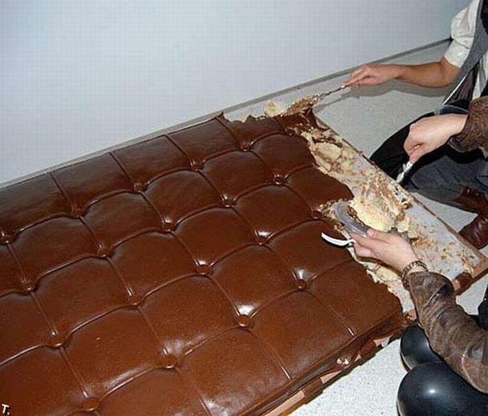Интересная кровать (3 фото)
