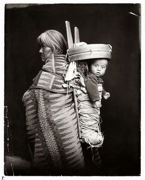 Индейцы. Редкие кадры (16 фото)