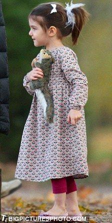 Сури, дочь Тома Круза и Кэти Холмс носит каблуки (13 фото)