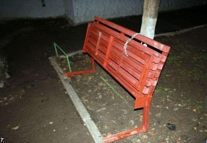 Чужие здесь не сядут! (2 фото)