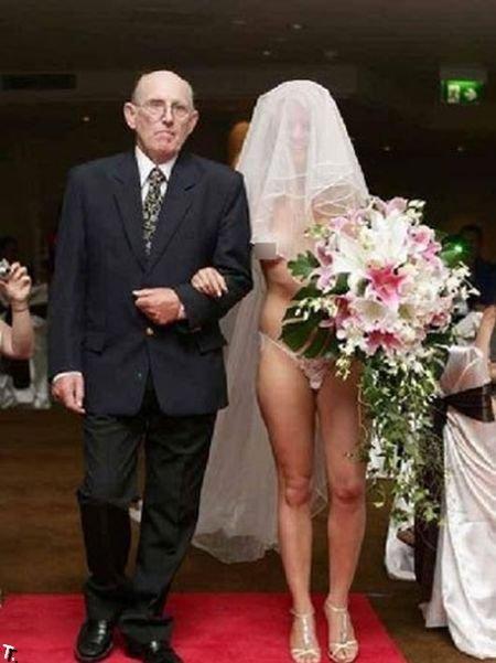 Не совсем обычные невесты (62 фото)