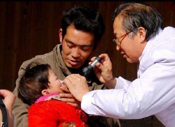 Жертвы загрязнения окружающей среды в Китае (13 фото)