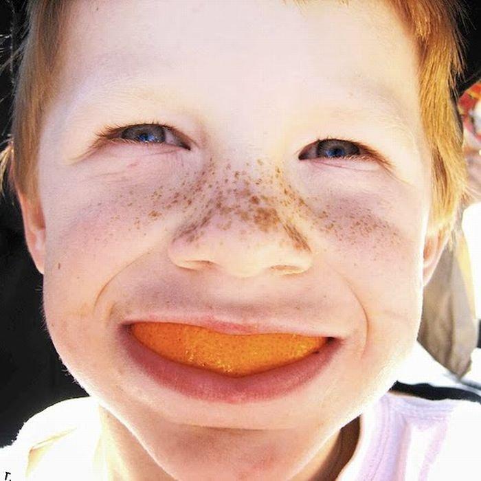 Апельсиновые улыбки (20 фото)
