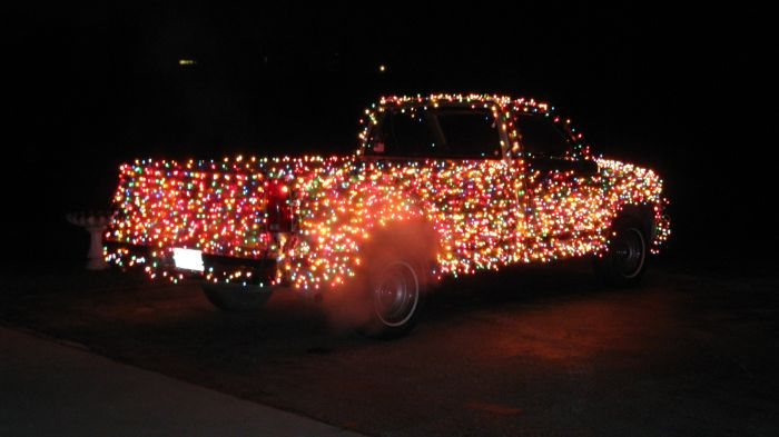 Рождественский пикап (11 фото)