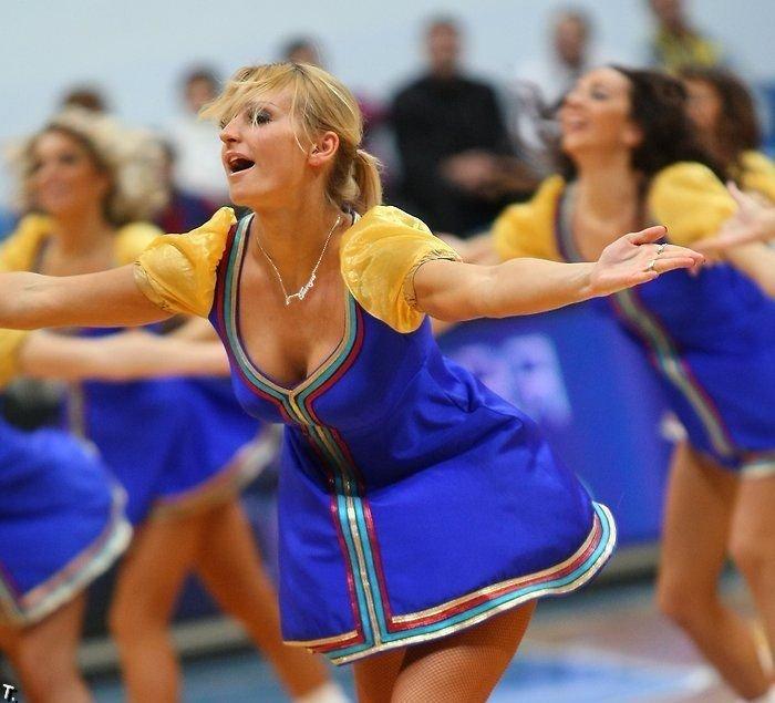 Девушки из группы поддержки баскетбольной команды Химки (83 фото)