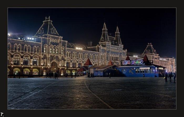 Московская ночь. Фотографии Михаила Шлемова (40 фото)